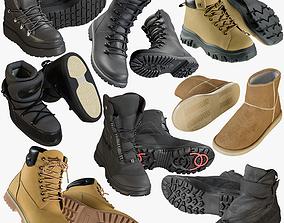 3D Shoes Collection 44