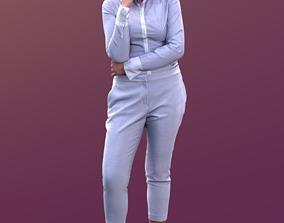 3D asset Amaya 10165 - Standing Business Woman