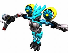 Game ready Character A21 - max fbx obj 3ds game-ready 2