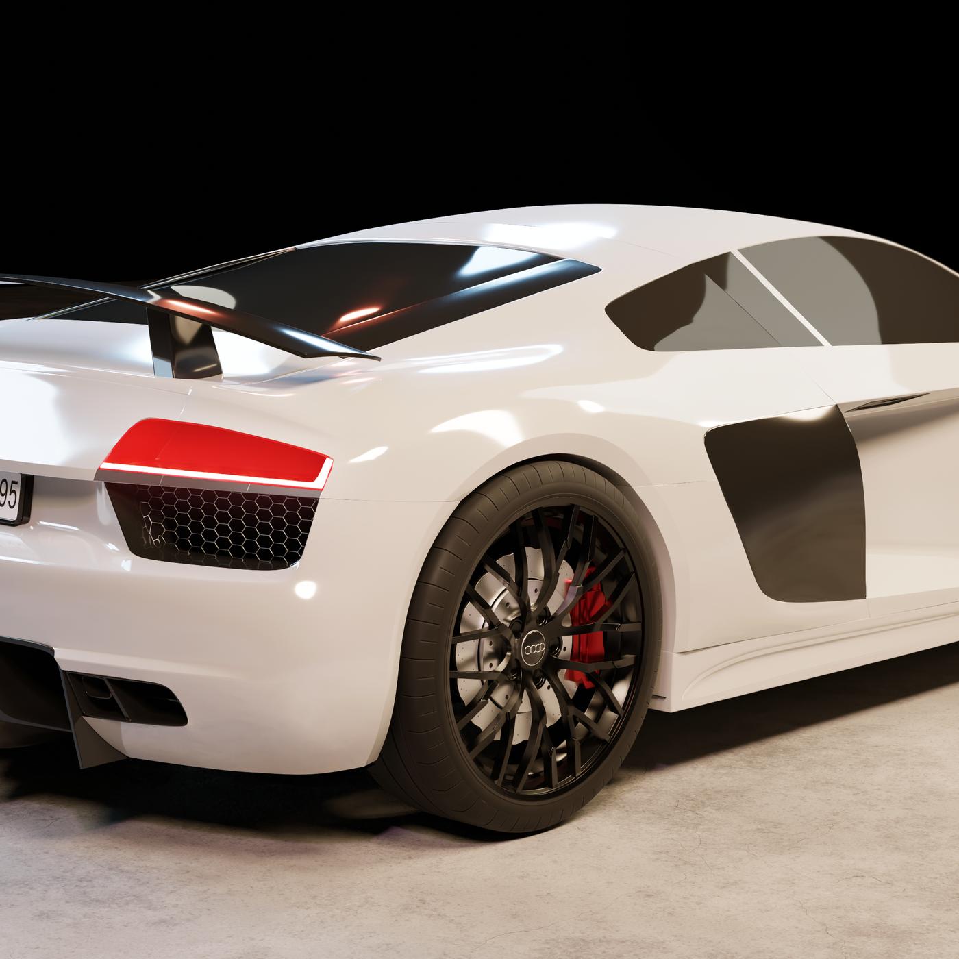 Audi R8 2017 V10 Plus