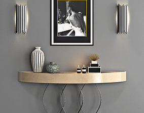 Console Table Sunset 3D