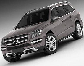 3D Mercedes GL 2013