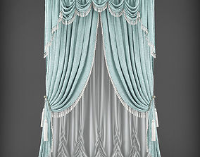 realtime Curtain 3D model 351