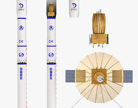 Queqiao Relay Communication Satellite Long March 3D