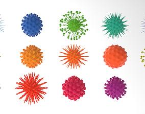 organic Virus pack volume 1 3D model