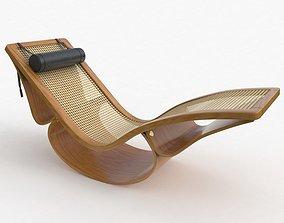 3D model Rio Chaise Lounge Teak Vray