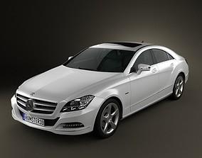 3D model Mercedes-Benz CLS-Class W218