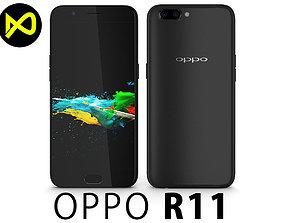 3D Oppo R11 Black
