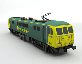 Class 86 Locomotive Freightliner 3D model