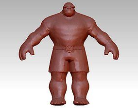 The Thing Marvel 3D printable model