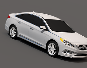 3D model Hyundai Sonata 2015