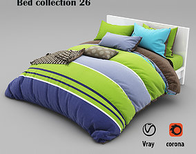 Bed collection 26 3D