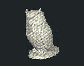 Owl Animal 3D print model