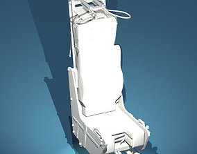 Ejection seat 3D