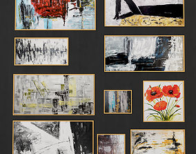 Abstract Painting 009 3D asset