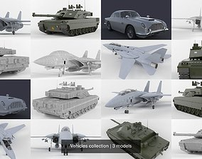 3D Vehicles collection