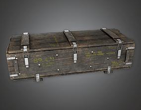 Military Supplies Crate 03 - MLT - PBR Game Ready 3D asset