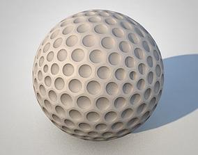 3D model Golfball