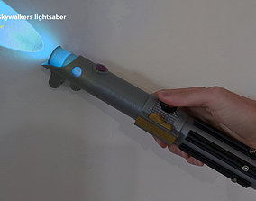 Anakin Skywalkers second lightsaber - 3D printable model 1