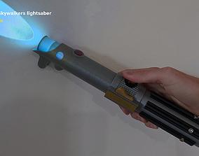 Anakin Skywalkers second lightsaber - 3D printable model 1