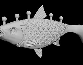 Fishing bait 3D printing and CNC ready 3D asset