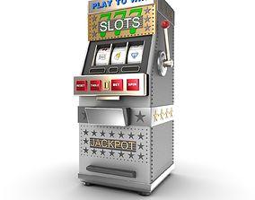3D A slot machine or gamble machine