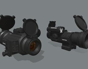 VORTEX STRIKEFIRE II COLLIMATOR SIGHT 3D asset