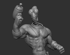 Earthworm Jim 3D print model game