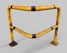 Barrier V2 - 001 3D asset