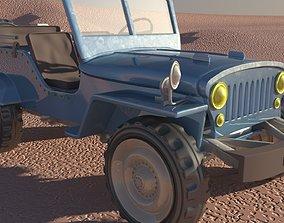 Jeep CJ-7 3D model