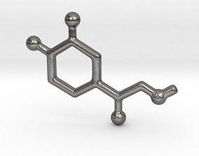 ADRENALINE - Molecules 3D print model