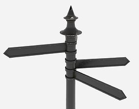 Street Assets - Directional Sign Post VR / AR ready