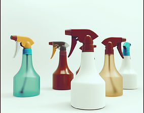 3D model Sprinkler bottle