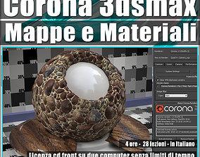 Corona 1 5 in 3dsmax 2017 Mappe e Materiali Vol 3 Cd 1