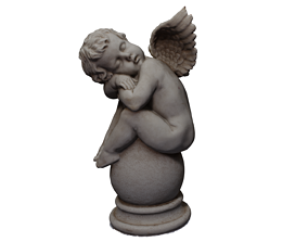 Angel Statue 3D model models
