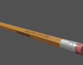 Pencil 3D asset game-ready