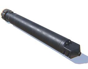 Tactical Silencer 50BMG 3D asset