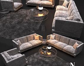 3D Sofa NATUZZI Jeremy 2987