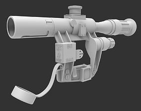 Scope 03 - High poly 3D