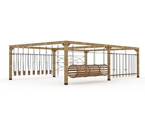 3D model Playground outdoor