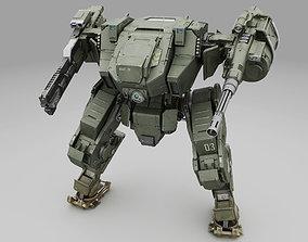 Mech Fighter texture 3D