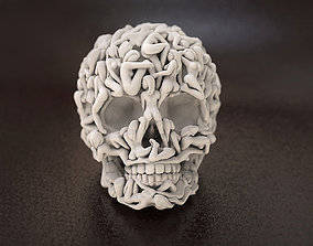 3D print model Skull Head Women Bodies