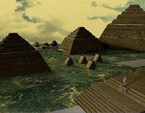 3D model Scene Aztec AVP