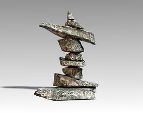 3D model Stone 11 Set 01 PBR