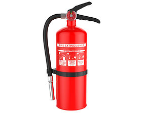 3D Fire Extinguisher alert