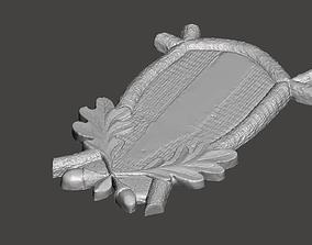 Trophy base or shield 3D printable model