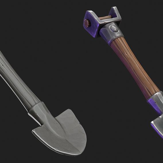 Stylized Shovel