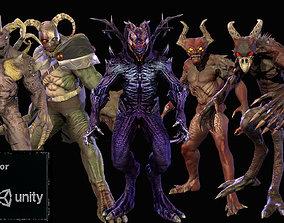 Monster pack 1 3D model