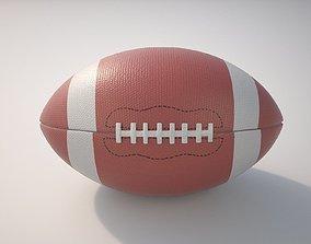 3D PBR equipment American Football