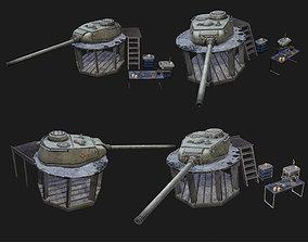 Tank workbench WWII 3D asset